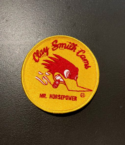 Mr. Horsepower Clay Smith Cams Patch, Aufnäher, Gross real wear München