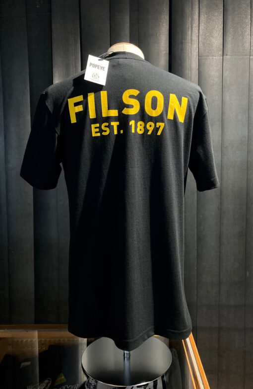 Filson Bluto T-Shirt Black, Gross real wear München, Limited Edition