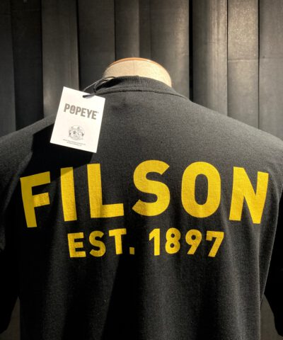 Filson Bluto T-Shirt Black, Gross real wear München, Limited Edition