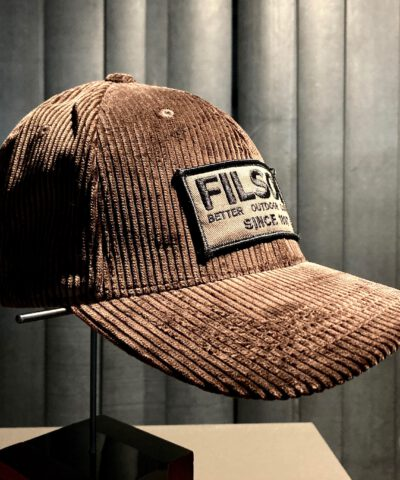 Filson Logger Cap Corduroy, Trucker Cap, Baseball Cap, Gross real wear München, Darkbrown