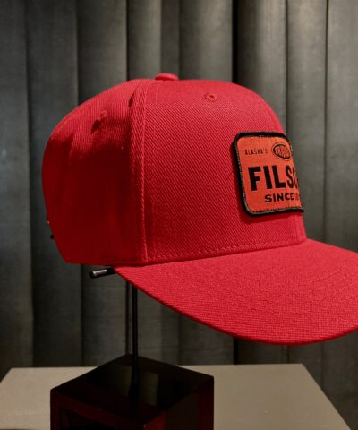 Filson Logger Cap, Trucker Cap, Gross real wear München, Scarlet, Red