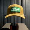 Filson Tin Cloth Logger Cap, Trucker Cap, Geölt, Gross real wear München, Tan