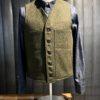Filson Mackinaw Wool Vest, Wollweste, Forestgreen, Gross real wear München
