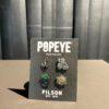 Filson Popeye Enamel Pin Set Multicolor, Gross real wear München, Limited Edition, Metall