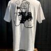 Filson Popeye T-Shirt weiss, Gross real wear München, limited Edition, Seemann, Baumwolle