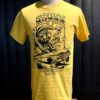 Gross real wear München Weirdo #3 Lowrider, Lowbrow T-Shirt, Gelb, Cotton