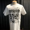 Gross real wear München Weirdo #4 Surfcity T-Shirt, Lowbrow, Weiss, Cotton