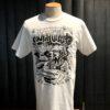 Gross real wear München Weirdo #4 Surfcity T-Shirt, Lowbrow, Weiss, Cotton