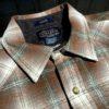 Pendleton Snap-Front Canyon Western Shirt, Gross real wear München, langarm Hemd kariert mit Druckknöpfen, Wolle, Grün, Braun, Beige