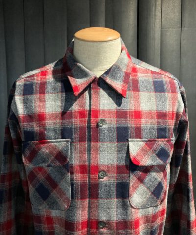 Pendleton Original Board Shirt Wolle langarm kariert, Gross real wear München, Loopcollar, Reverskragen, Brusttasche mit Patte