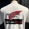 Red Wing Archive Logo T-Shirt, Gross real wear München, Cotton, White