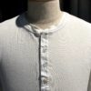 Schiesser Revival Karl-Heinz Henley Langarm Shirt Weiß, Knopfleisten Shirt, Gross real wear München