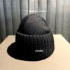 Stetson Merino Woll Beanie, Strickmütze, Gross real wear München, Black