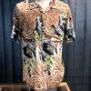 Stüssy Big Falcon Hawaii Hemd, Rayon, Gross real wear München, kurzarm Hemd, Black