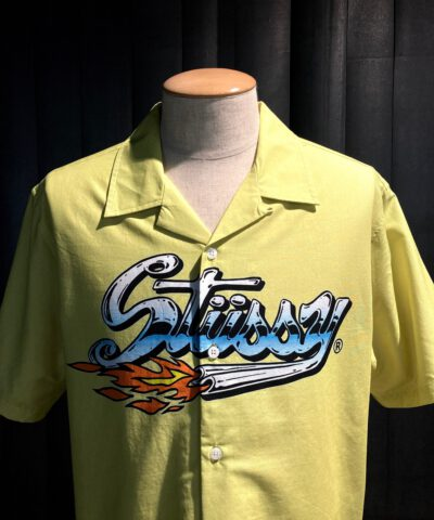 Stüssy Cruising Shirt Yellow, Kurzarm Gelb, Gross real wear München