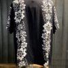 Stüssy Hawaiian Pattern Shirt, kurzarm Hawaii Hemd Rayon, Black, Gross real wear München