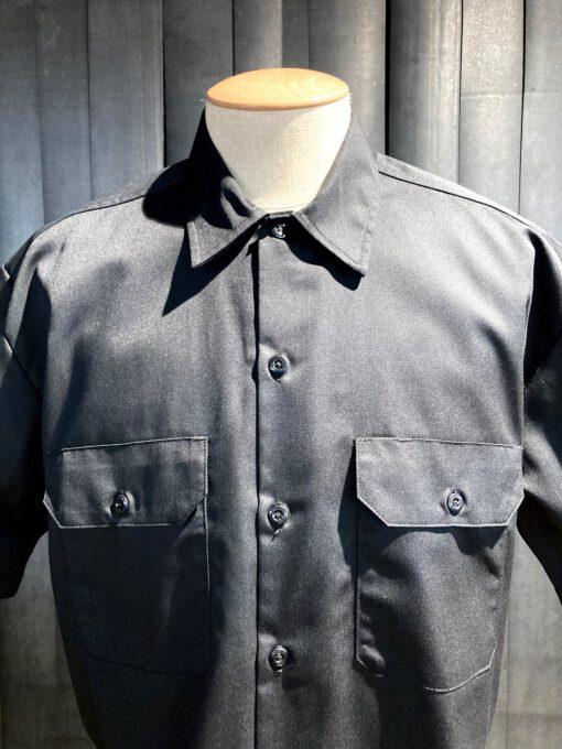 Dickies Work Shirt kurzarm, Gross real wear München, Brusttaschen mit Patte, Black