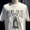 Lightning Bolt Energy Juice T-Shirt, Off White, Baumwolle, Gross real wear München, Flash Logo, Ananas