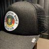 Lightning Bolt Hawaii Trucker Cap, Black, Gross real wear München, Mesh, Snapback,