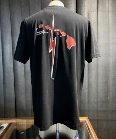 Lightning Bolt Legendary Shapers Collection T-Shirt, Black, Hawaii, Gross real wear München, Baumwolle