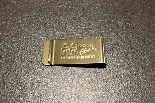 MQQN Classic Money Clip Brass, Gross real wear München, Messing, MQQN Equipped, Geldklammer
