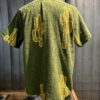 Oas Soft Terry Cotton Shirt, kurzarm Hemd, Frottee, Baumwolle, Oliv, Kaktus,Reverskragen, Loop Collar, Gross real wear München