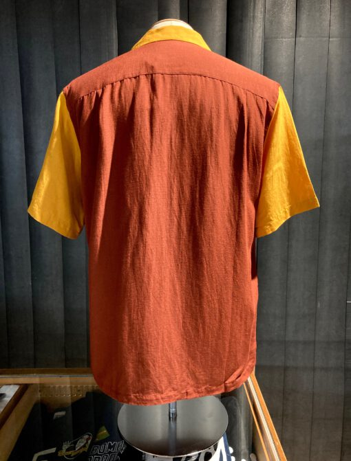 Portuguese Flannel Dinner Shirt, kurzarm Hemd, Viscose, Leinen, Gross real wear München, Reverskragen, Loop Collar, Brusttasche
