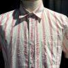 Portuguese Flannel Ebano Shirt, Gross real wear München, kurzarm Hemd, Brusttasche, Napp Yarn, eingewebte bunte Punkte, Permuttknöpfe