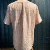 Portuguese Flannel Stripe Shirt, kurzarm Hemd rot gestreift, durchgenöpft mit Perlmuttknöpfen, Brusttasche, Baumwolle, Gross real wear München