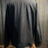 Stüssy Bryan Full Zip Jacket navy, Raglan Nadelstreifenjacke mit Reißverschluss, Brusttasche mit Reißverschluss, Gross real wear München, Stüssy Logo Stickerei, gewebtes Flaggenetikett