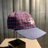 Stüssy Plaid 2-Tone Low Pro Cap, Baseball Cap, kariert navy, Gross real wear München