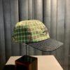 Stüssy Plaid 2-Tone Low Pro Cap, Baseball Cap, kariert green, Gross real wear München