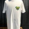 Stüssy Snakebite T-Shirt, Gross real wear München, White, Front und Backprint