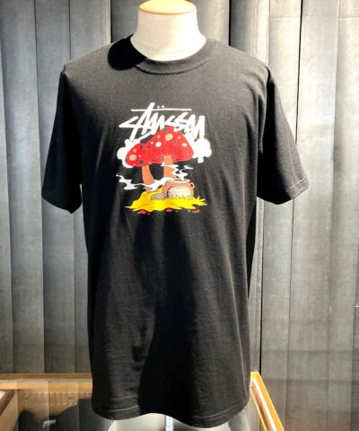 Stüssy Something'S Cookin' T-Shirt, Gross real wear München, Cotton, Black
