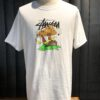 Stüssy Something'S Cookin' T-Shirt, Gross real wear München, Cotton, White