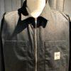 Stüssy Zip Up Work Langarm Shirt, Hemd mit Reißverschluß, Black, Gross real wear München, Jacke