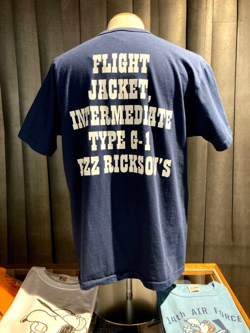 Buzz Rickson's X Peanuts U.S.Navy, Snoopy, Gross real wear München, Navy, Cotton, Front and Back Print