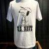 Buzz Rickson's X Peanuts U.S.Navy, Snoopy, Gross real wear München, White, Cotton, Front and Back Print