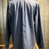 Carhartt Michigan Coat Denim, ungewaschen, Jacke geknöpft, Messingknöpfe, Brusttaschen, Taschen, Carhartt WIP Logo, Gross real wear München