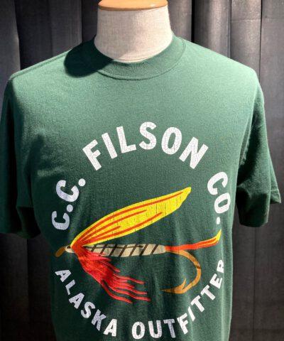 Filson Ranger Graphic T-Shirt, Cotton, Green, Gross real wear München, Alaska Outfitter
