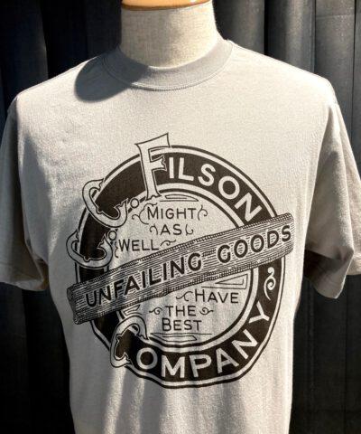 Filson Ranger Graphic T-Shirt, Fog, Cotton, Filson Company, Unfailing Goods, Gross real wear München, kurzarm