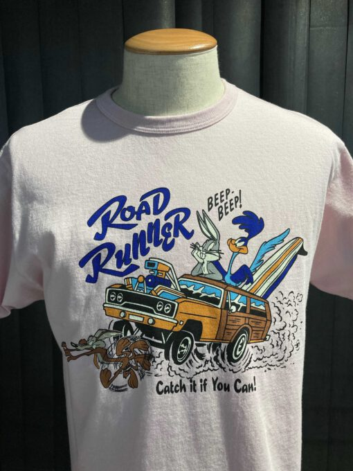 Cheswick Road Runner Catch It If You Can T-Shirt, Rose, Cotton, Gross real wear München
