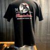 Buzz Rickson's 34th Bomb Sq. Thunderbirds T-Shirt, Weiß, Slubyarn, Front-Back Print, kurzarm, Gross real wear München