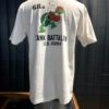 Buzz Rickson's 68th Tank Battalion T-Shirt, Slub Yarn, Cotton, Gross real wear München, Weiß, Front-Back Print