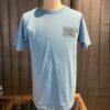 Cheswick Road Runner Speed King T-Shirt, Cotton, Hellblau, Front und Backprint, Gross real wear München