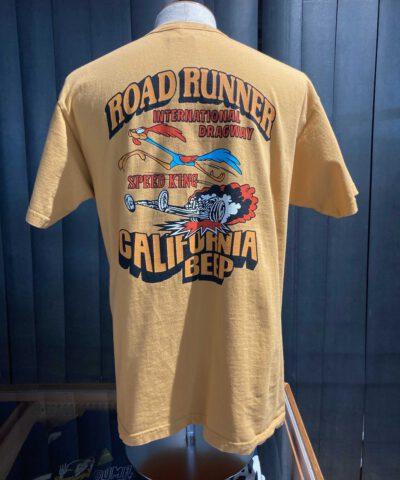 Cheswick Road Runner Speed King T-Shirt, Cotton, orange, Front und Backprint, Gross real wear München