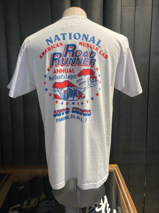 Cheswick Road Runner National Auto Show T-Shirt, Cotton, Weiß, Gross real wear München