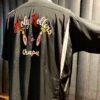 Style Eyes Holy Rollers Bowling Shirt, Loop Collar, Reverskragen, Brusttasche, Rayon, Viscose, Front- und Backprint, Kettenstickerei, Chainstitch, Rückenfalten, Gross-real wear München, Black