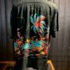 Sun Surf Island Palm Breeze Hawaiian Shirt, kurzarm, Black, Loop Collar, Reverskragen, Brusttasche, Viscose, Rayon, Gross real wear München