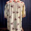 Sun Surf Tropical Fish Hawaiian Shirt, kurzarm, Loop Collar, Reverskragen, Rayon, Viscose, Gross real wear München, Yellow